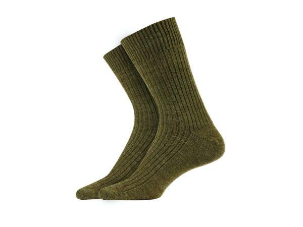 Calcetín ESCOCIA verde kaki