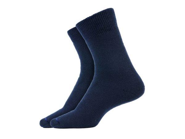 Calcetín de vestir, clásico, ANCARES azul marino